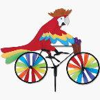 parrot on bike
