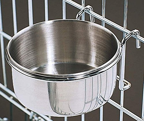 20-Oz-Stainless-Steel-Cage-Coop-Cup-Bird-Cat-Dog-Puppy-Food-Water-Bowl-pet-travel-0