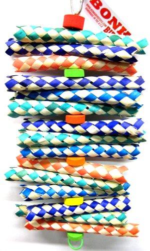 Bonka-Bird-Toys-1798-Big-Foamy-Delight-Bird-Toy-Parrot-Cage-Toys-Cages-Shredder-Cockatiels-Conures-0