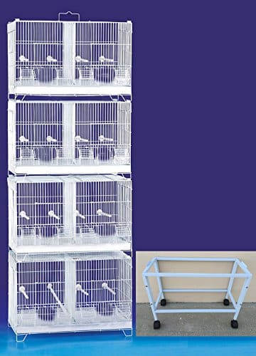COMBO-Stack-and-Lock-Double-Breeder-Cage-Bird-  sc 1 st  Bird Cages & COMBO: Stack and Lock Double Breeder Cage Bird Breeding Cage With ...