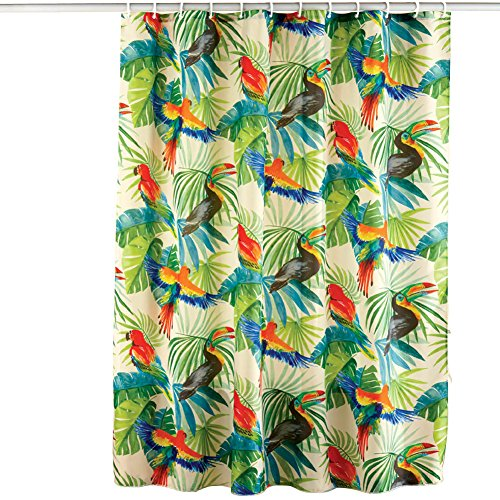 Tropical Rainforest Shower Curtain – Large Bird Cages For Sale