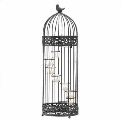 Gifts-Decor-Birdcage-Style-Staircase-Tealight-Candle-Holder-Stand-0