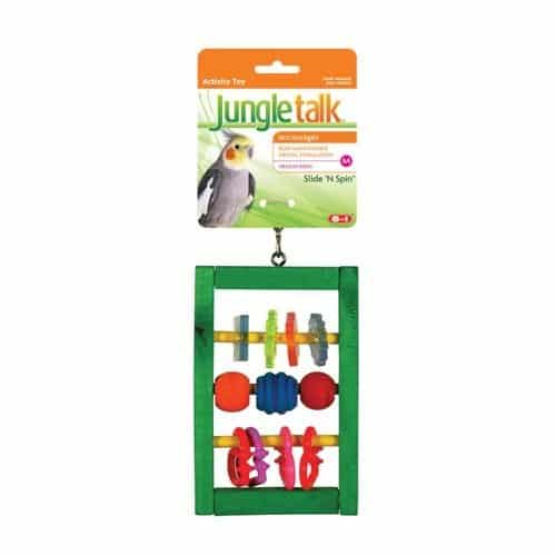 Jungle-Talk-Pet-Products-BJN99301-Slide-N-Spin-Bird-Activity-Toys-Medium-0