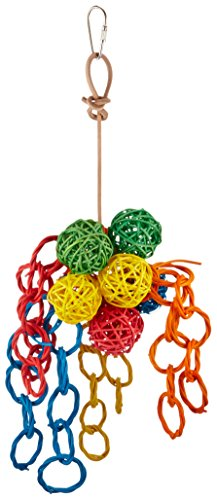 Paradise-5-by-12-Inch-Vibrant-Clusters-Pet-Toy-Small-0
