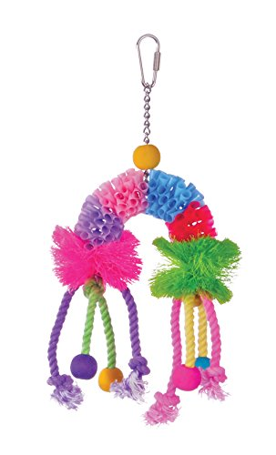 Prevue-Pet-Products-62636-Calypso-Creations-Over-the-Rainbow-Bird-Toy-0