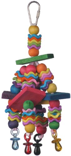 Super-Bird-Creations-Wiggles-and-Wafers-Toy-for-Birds-0