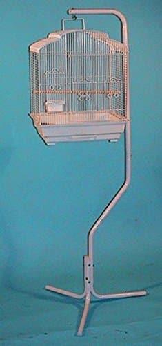 Tubular-Steel-Hanging-Hanger-Bird-Cage-Stand-With-Metal-Hook-0